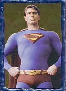 Superman Returns - Embossed Foil Card 2 of 5 - UK Trading Cards