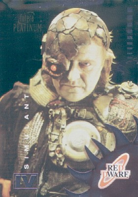RED DWARF Trading cards CHROME CARD # C22