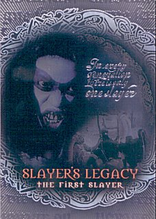 Buffy TVS Season 7 Slayers Legacy Chase Card SL-1